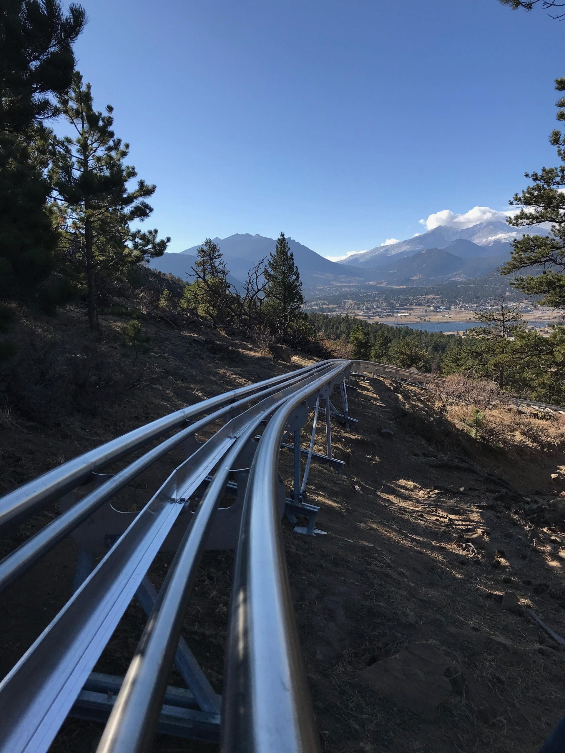 Mustang Mountain Coaster-The newest alpine coaster in Colorado