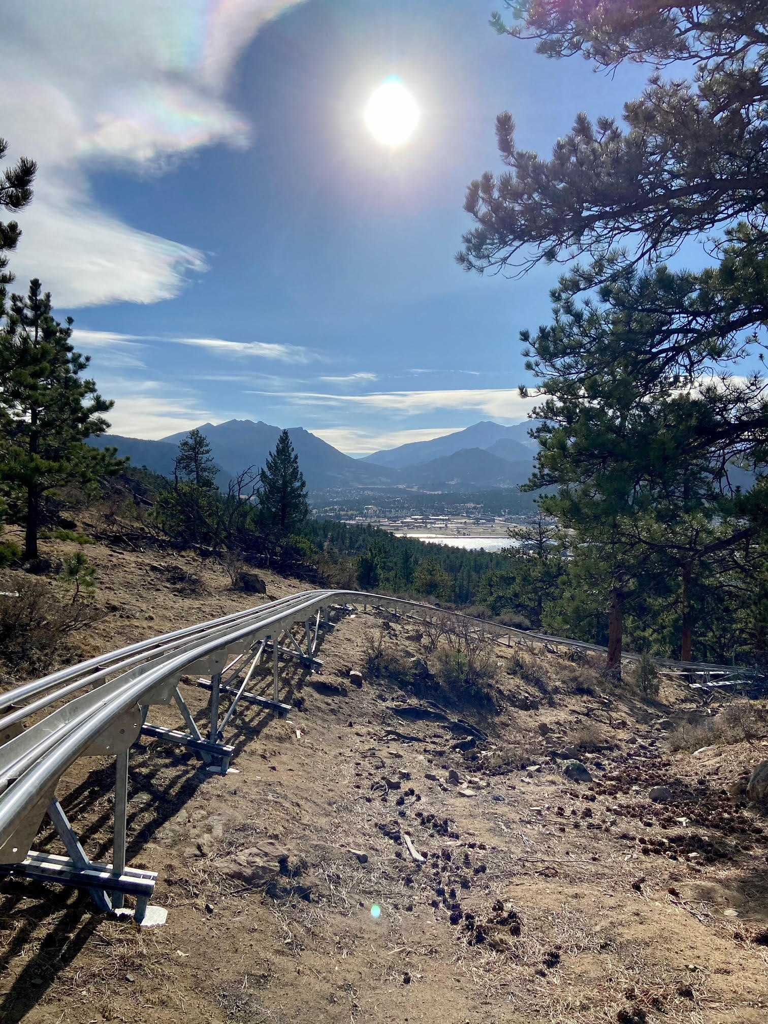 Mustang Mountain Coaster is the newest Colorado mountain coaster