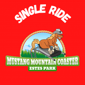 1-ride pass Mustang Mountain Coaster